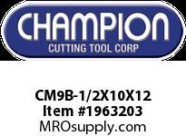 Champion CM9B-1/2X10X12 BULK SDS PLUS BITS (25)