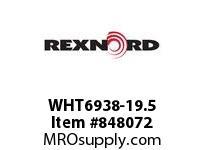 REXNORD WHT6938-19.5 WHT6938-19.5 WHT6938 19.5 INCH WIDE MATTOP CHAIN