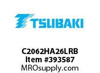US Tsubaki C2062HA26LRB C2062H RIV 6L/A-2