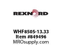 REXNORD WHF8505-13.33 WHF8505-13.33 WHF8505 13.33 INCH WIDE RUBBERTOP M