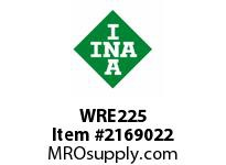 INA WRE225 Snap ring shaft