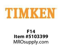 TIMKEN F14 Split CRB Housed Unit Component