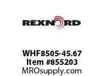 REXNORD WHF8505-45.67 WHF8505-45.67 WHF8505 45.67 INCH WIDE RUBBERTOP M