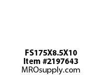 PTI FS175X8.5X10 FELT STRIP