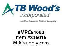 TBWOODS 8MPC64062 8MPC-640-62 QTPCII BELT