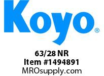 Koyo Bearing 63/28 NR AUTOMOTIVE BEARING