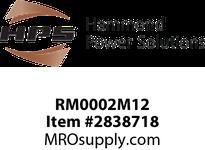 HPS RM0002M12 IREC 2A 12.000MH 60HZ CC Reactors