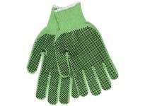 MCR 9514GS Regular Weight Cotton/Polyester Pastel Green 2 Sided PVC Dots Hemmed