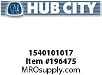 HUBCITY 1540101017 CPCCX1 CLEAN-CP MOUNTED BEARING ACCESSORY