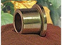 BUNTING ECOF040606 1/4 x 3/8 x 3/8 SAE841 ECO (USDA H-1) Flange Brg SAE841 ECO (USDA H-1) Flange Brg