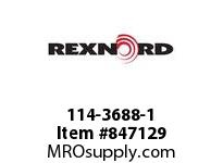 REXNORD 114-3688-1 CT N36R7 7956-6 90D CARY