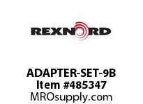 REXNORD 6103563 ADAPTER-SET-9B ADAPTER FOR DRIVEMASTER1