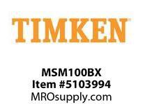 TIMKEN MSM100BX Split CRB Housed Unit Component