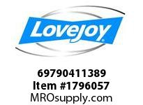 LoveJoy 69790411389 FA 3E RH 70MM KW *PLT M/P