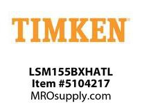 TIMKEN LSM155BXHATL Split CRB Housed Unit Assembly