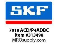 SKF-Bearing 7018 ACD/P4ADBC