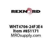 REXNORD WHT4706-24F3E4 WHT4706-24 F3 T4P WHT4706 24 INCH WIDE MATTOP CHAIN W