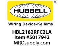 HBL_WDK HBL2182RFC2LA RF CTRL HGR FULL CTRLD 20A 5-20R LA