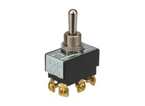 NSI 78230TS TOGGLE SWITCH BAT ON/OFF/ON DPDT SCREWS