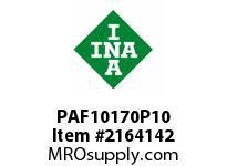 INA PAF10170P10 Flanged plain bearing