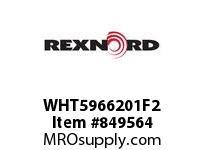 REXNORD WHT5966201F2 WHT5966-20.12 F2.25 T2 SP WHT5966 20.125 INCH WIDE MATTOP CHA