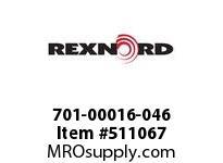701-00016-046 STRAIGHT SLEEVE 7611964