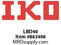 IKO LBD40 LBD - SERIES