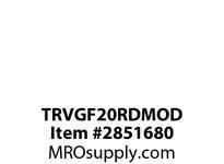 CPR-WDK TRVGF20RDMOD GFCI TR Deco Duplex 20A 125V MOD RD