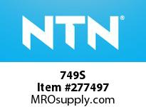 NTN 749S MEDIUM SIZE TAPERED ROLLER BRG