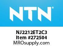 NTN NJ2212ET2C3 CYLINDRICAL ROLLER BRG