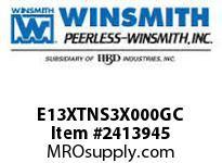 WINSMITH E13XTNS3X000GC E13XTNS 60 R WORM GEAR REDUCER