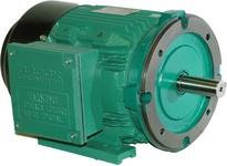 Brook Crompton PC2M001-4D 1HP 3600RPM 230/460V Cast Iron IEC 80 D Flange