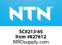 NTN SC0213-65 Bearing Units - Cast Covers