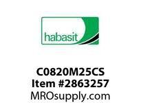 Habasit C0820M25CS 820 25T Carbon Steel - MPB