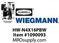 WIEGMANN HW-N4X16PBW MHPB30GRAY11.79X9.80X4.94