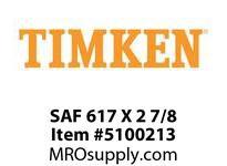 TIMKEN SAF 617 X 2 7/8 SRB Pillow Block Housing Only