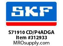 SKF-Bearing S71910 CD/P4ADGA