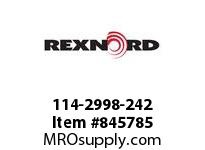 REXNORD 114-2998-242 ATCH GLD6085 F2N3.03125TP
