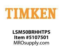 TIMKEN LSM50BRHHTPS Split CRB Housed Unit Assembly