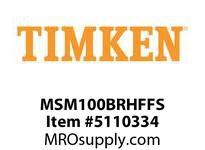 TIMKEN MSM100BRHFFS Split CRB Housed Unit Assembly
