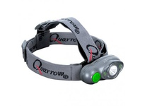 NEBO 5483 Quarrow TRI-EYE Green Head Lamp