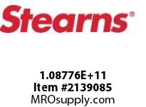 STEARNS 108776205022 BARE METAL EXTODD BORE 8002689