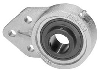 IPTCI Bearing BUCNPFB206-18 BORE DIAMETER: 1 1/8 INCH HOUSING: 3-BOLT FLANGE BRACKET HOUSING MATERIAL: NICKEL PLATED