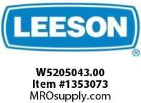 LEESON W5205043.00 RHMQ520-43-HL-56-16