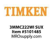 TIMKEN 3MMC222WI SUX Ball P4S Super Precision