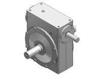 HUBCITY 0220-65100 521 10/1 A WR WORM GEAR DRIVE