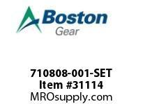 BOSTON 72994 710808-001-SET SET 7X2-1/2 OUTER SHOES