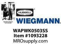 WIEGMANN WAPWK0503SS KITWINDOW5 X 3