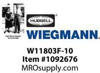 WIEGMANN W11803F-10 GRILLFILTERLIGHTGRAY10^