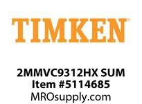 TIMKEN 2MMVC9312HX SUM Ball High Speed Super Precision